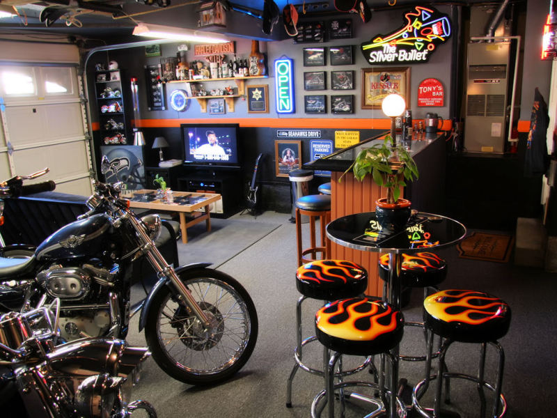 harley-bar 12 Man-tastic Man Caves