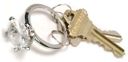 diamonring-keychain WARNING: 25 Outrageous & Lame Gifts You Should NEVER Get Your Girlfriend