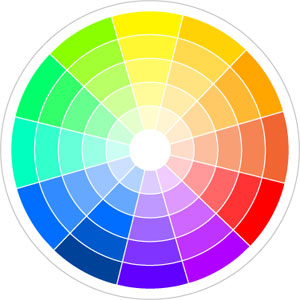 colorwheel1 Color Your Home Happy