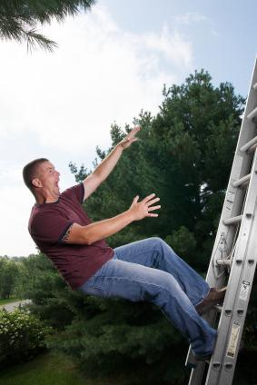 ladder-fall Don't Let DIY Disasters Happen To You