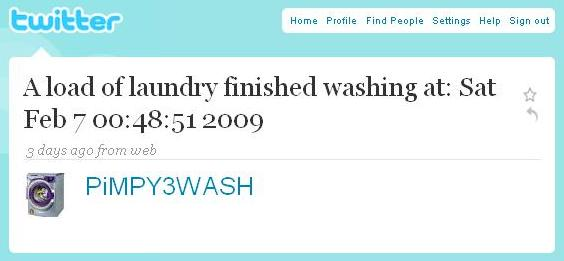 laundry-tweet Taking Twitter Home