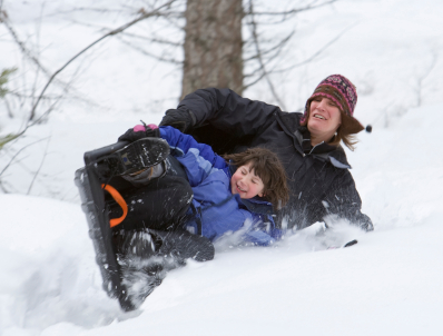 sledding Outdoor Winter Fun On The Cheap
